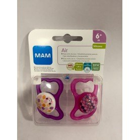 Mam chupete air +6 meses pack doble